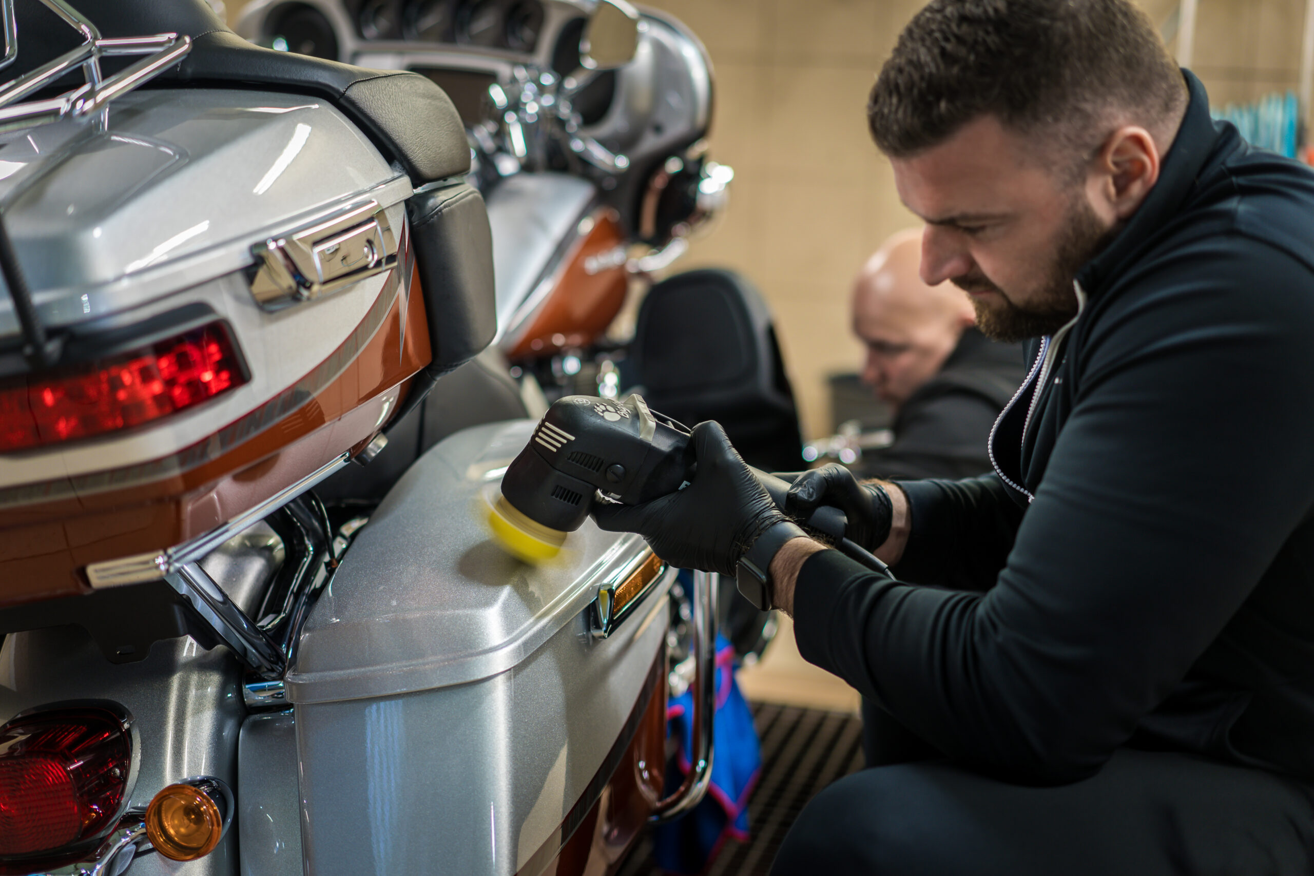 Detailing motocyklů