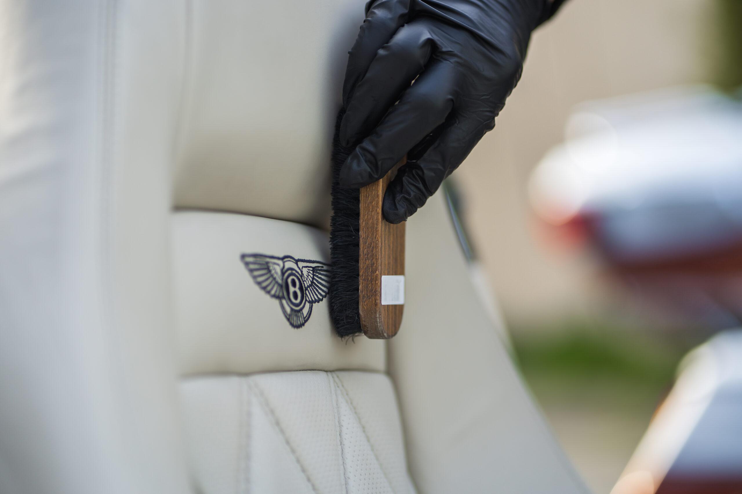 čištění sedadel a čalounění